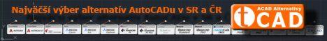 Najväčší výber alternatív AutoCADu v SR a ČR