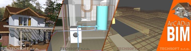 DWG kompatibilní systém postavený na BIM technologii